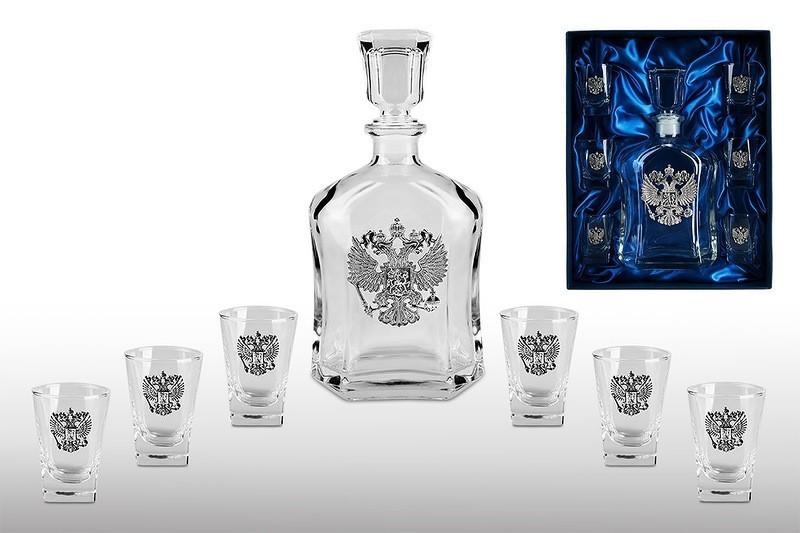 Подарочный набор для водки «Империя» недорого