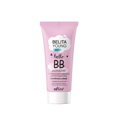 Белита Belita Young Skin ВВ-хайлайтер с тонирующим эффектом для молодой кожи «Безупречное сияние» 30мл