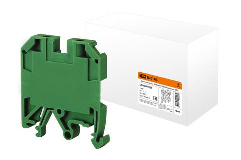 Зажим наборный ЗНИ-4мм2 (JXB35А) зеленый TDM