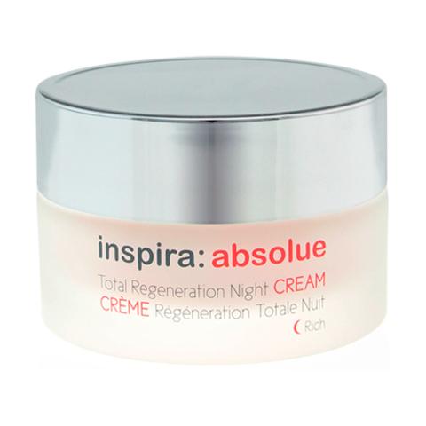 Обогащенный ночной регенерирующий лифтинг-крем Total Regeneration Night Cream Rich, Inspira Absolue, 50 мл