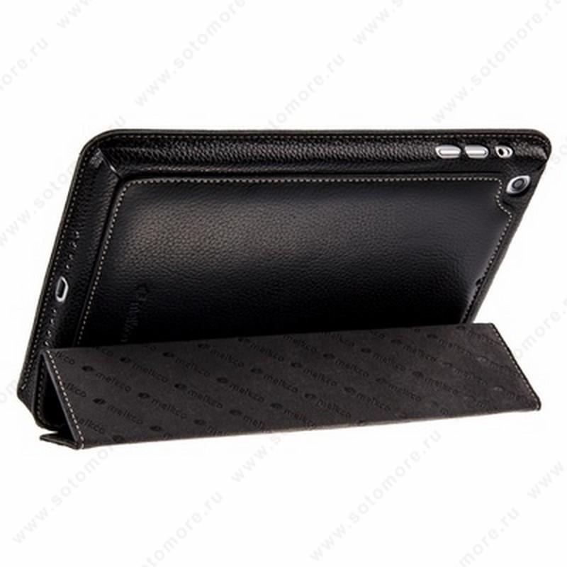 Чехол-книжка Melkco для Apple iPad Mini 3/ 2/ 1 - Premium Leather Case Slimme Cover Type (Black LC) Ver.6