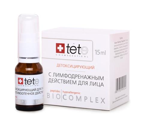 Биокомплекс детокс с лимфодренажным действием. Tete (Швейцария) 15 мл