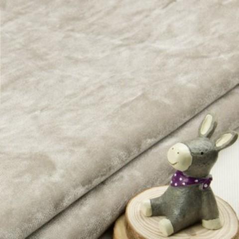 Бархат мраморный на трикотажной основе, ворс 1 мм., бежевый