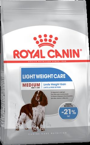 Royal Canin MEDIUM Light Weight Care для собак средних пород, предрасположенных к полноте 3 кг