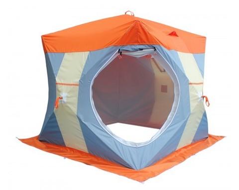Зимняя палатка НЕЛЬМА КУБ 2 ЛЮКС с внутренним тентом