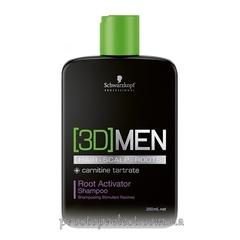 SCHWARZKOPF 3D Mension Activating Shampoo - Шампунь активирующий рост волос