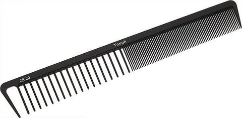 Профессиональная карбоновая расчёска с широкими зубчиками Uehara Cell