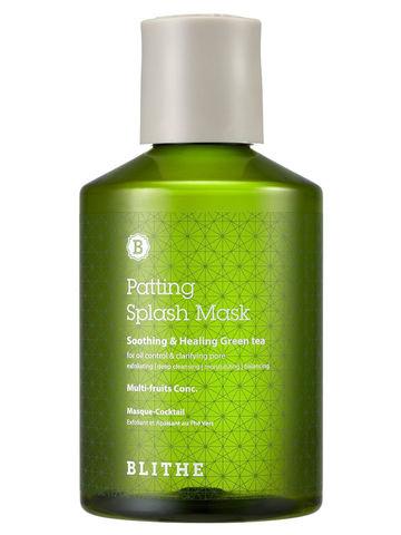 Восстанавливающая Сплэш-Маска С Зелёным Чаем  BLITHE Patting Water Pack Soothing & Healing Green Tea