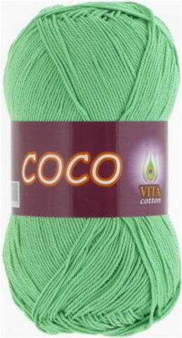 Пряжа Coco (Vita cotton) 4324 Ментол