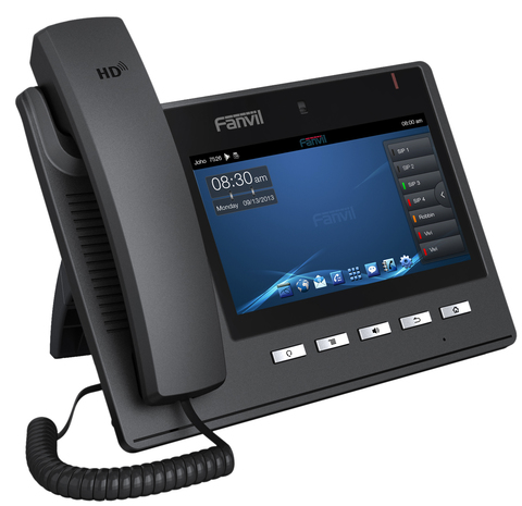 Fanvil C600 - Android SIP Video Phone (POE) - IP видеотелефон, 6 SIP линий, 7