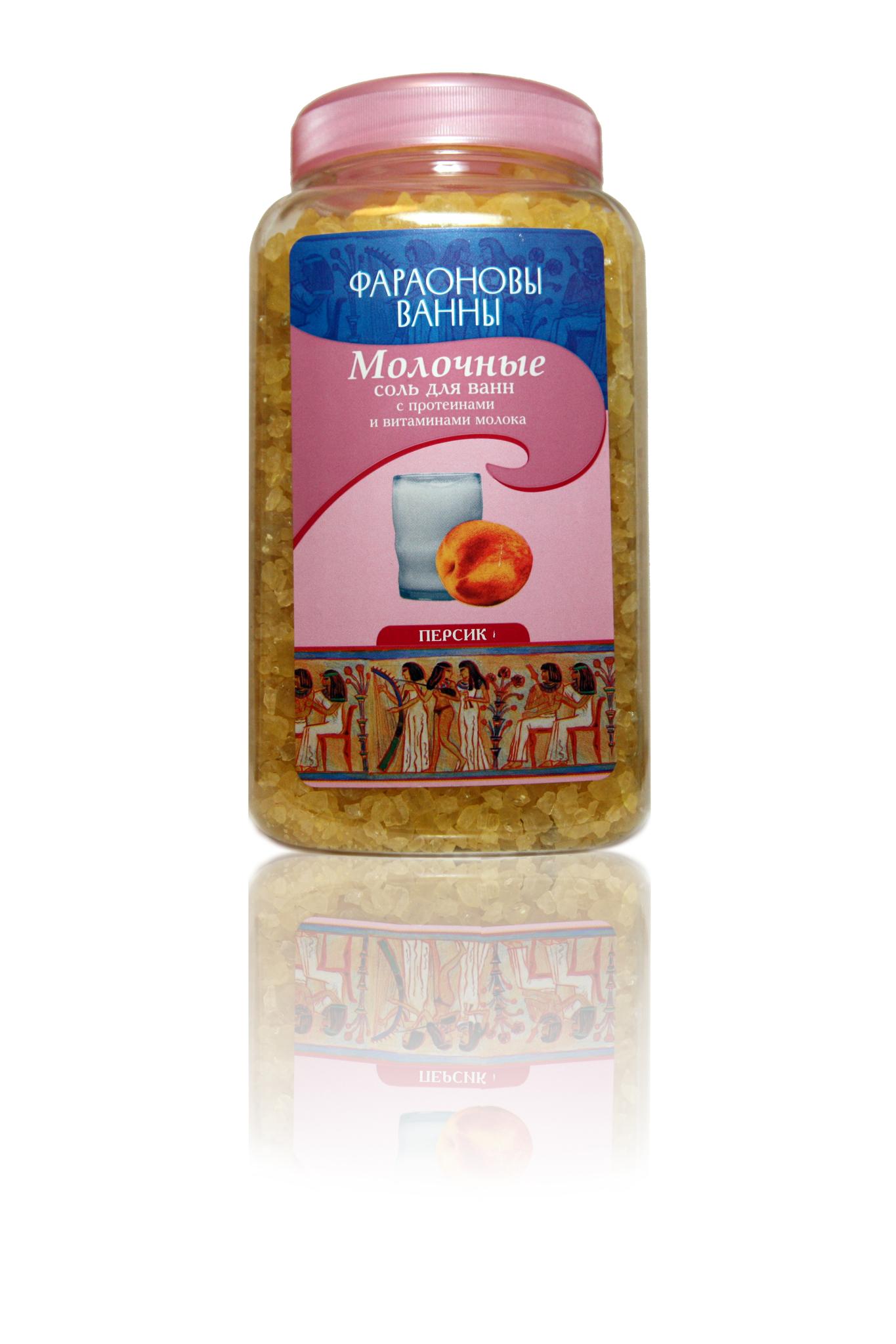 Молочные Фараоновы Ванны с персиком 800 г.