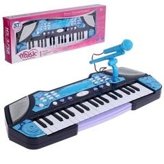 """Синтезатор """"Детский Синтезатор"""" с микрофоном, 37 клавиш, функция записи и воспроизведения"""