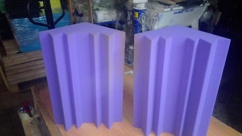 Акустический поролон Бас ловушка ECHOTON BassTrap 250 фиолетовый