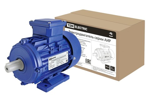 Электродвигатель АИР 63B2 0,55 кВт 3000 об/мин 1081