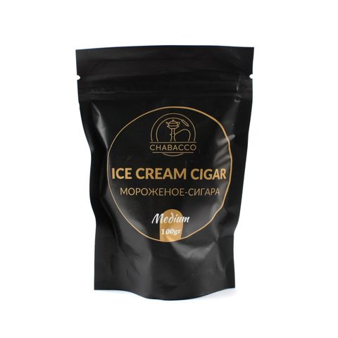 Кальянная смесь Chabacco Medium 100 гр Icecream Cigar