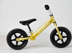 Беговел EcoBalance NEXT, сверхлегкий, 1,9 кг, золотой вид сбоку