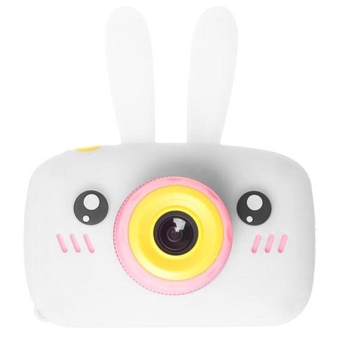 Детский фотоаппарат зайчик белый