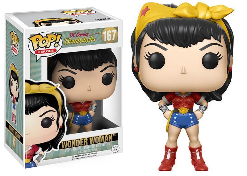 Фигурка Funko POP! Vinyl: DC: DC Bombshells Wonder Woman 12853