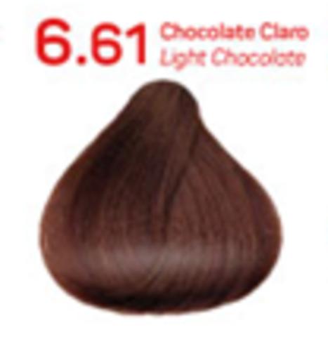 6,61 - светлый шоколад
