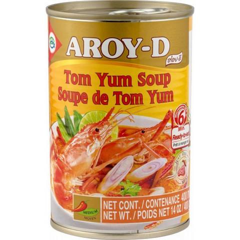 Суп Том Ям Aroy-D жестяная банка 400 г