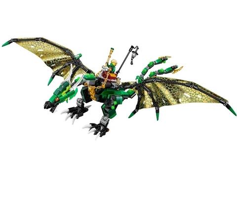 LEGO Ninjago: Зелёный Дракон 70593 — The Green NRG Dragon — Лего Ниндзяго
