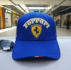 Кепка Феррари (Бейсболка Ferrari) синяя