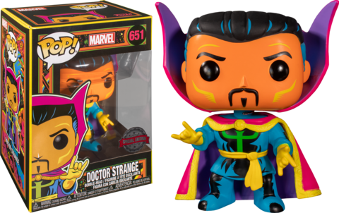 Doctor Strange Marvel: Black Light Special Edition Funko Pop! || Доктор Стрэндж