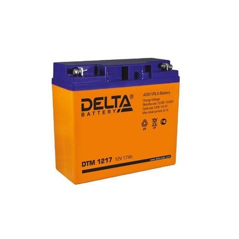 Аккумулятор для эхолота DELTA DTM 1217, 12В 17.0Ah
