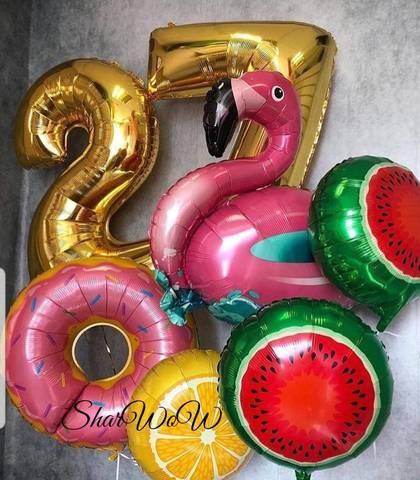 Сочный сет шаров на день рождения
