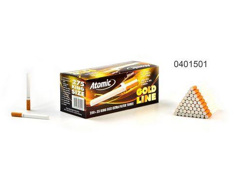 Гильзы для сигарет Atomic Gold (Фильтр 24мм) 275 шт