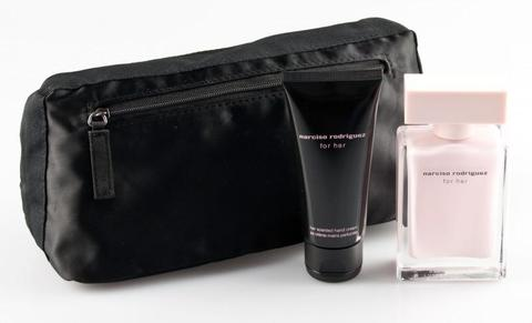 Narciso Rodriguez For Her Set (50ml Edp+50ml B/C+Pouch)