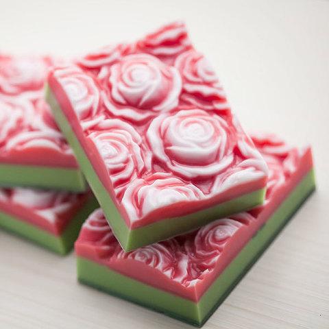 Мыло Розы. Пластиковая форма