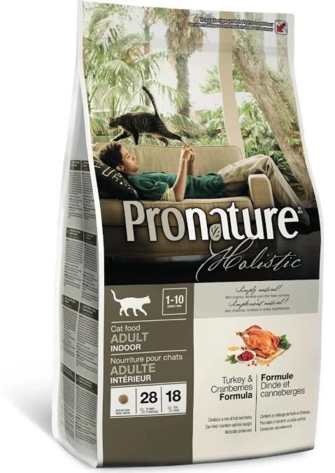 Pronature Корм для взрослых кошек, Pronature Holistic, с индейкой и клюквой 2018-10-16_18-33-42.png