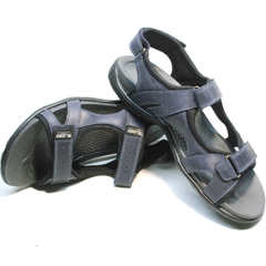 Трекинговые сандалии мужские кожаные Mi Lord 2066EKO Blue