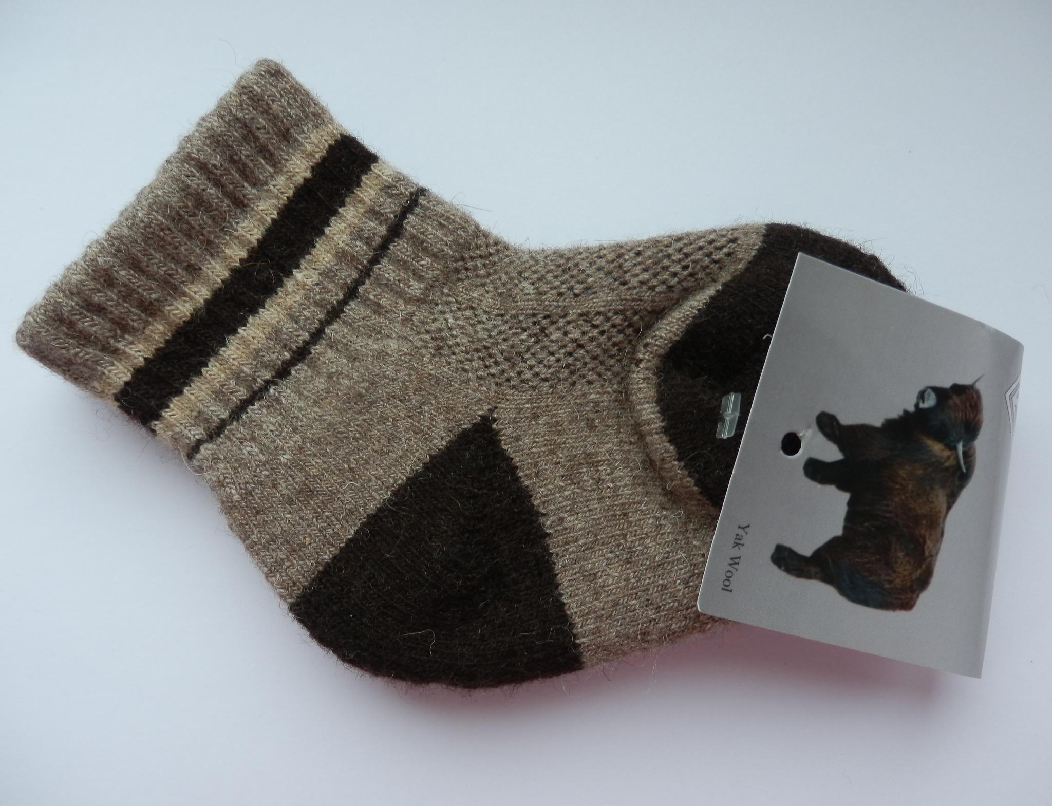 Носки детские из верблюжьей шерсти фото3