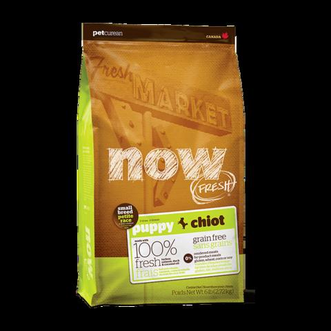 Now Natural Сухой корм для щенков мелких пород с индейкой, уткой и овощами беззерновой