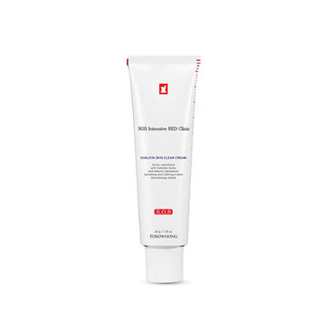 Крем TOSOWOONG Red Clinic ACNE OVALICIN CREAM 50g