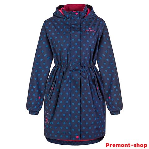 Плащ Premont для девочки Озеро Луис SP71629 Blue