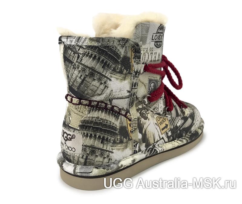 UGG & Jimmy Choo Travel Fur Grey