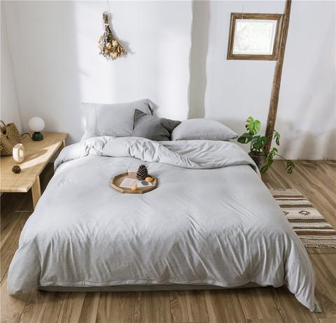 Евро постельное белье трикотаж Nature Collection R-21