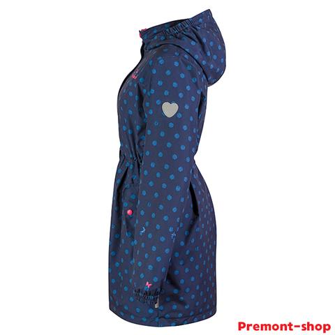 Плащ для девочки Premont Озеро Луис SP71629 Blue