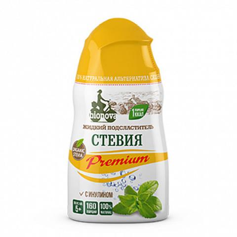 Bionova, Сахарозаменитель Стевия Premium жидкий, 80гр