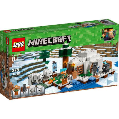 LEGO Minecraft: Иглу 21142 — The Polar Igloo — Лего Майнкрафт