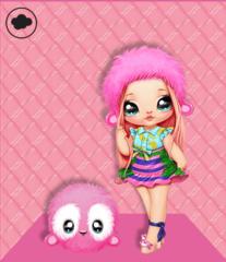 Кукла Na! Na! Na! Surprise Nina Nanners обезьянка 2 серия