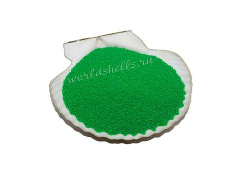 Цветной песок салатовый для песочной церемонии