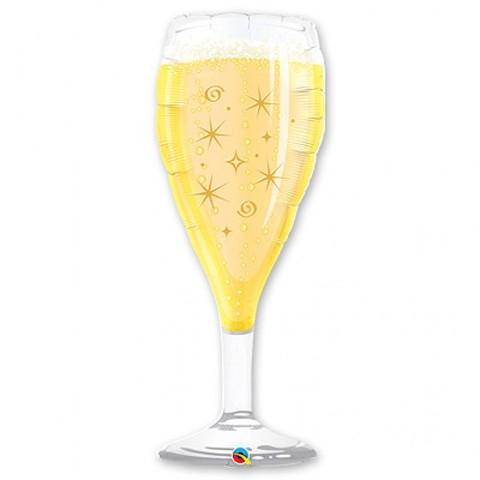 Шар бокал шампанского