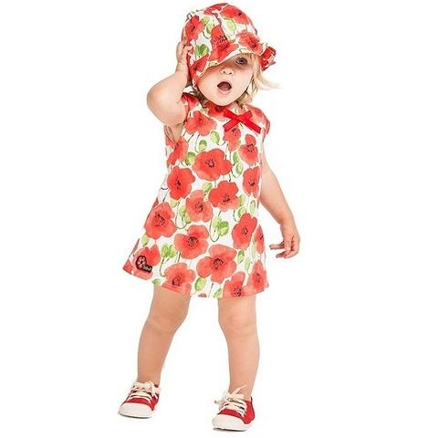 Платье Boboli детское Маки