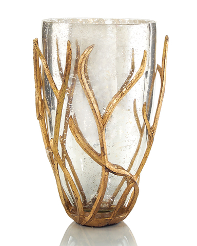 Branch-Encased Vase