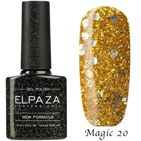 Гель лак Elpaza Magic, ЗОЛОТАЯ РЫБКА 20