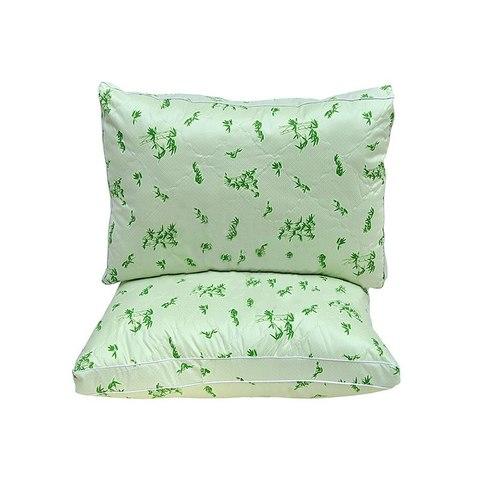 Подушка бамбук 70x70 с чехлом из тика
